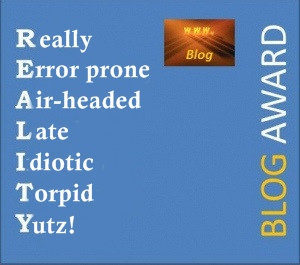 silly award