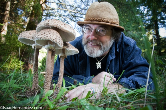 Paul Stamets, mycologist, writer, founder of Fungi Perfecti. ©20