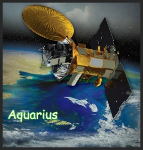 Aquarius Satellite Artists Rendering
