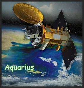 Aquarius Satellite Artists Rendering