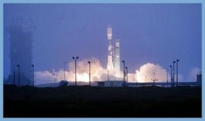 Liftoff of the Delta II Rocket