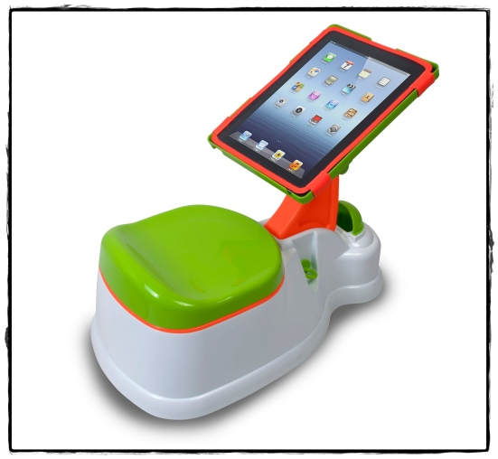 iPotty lid down