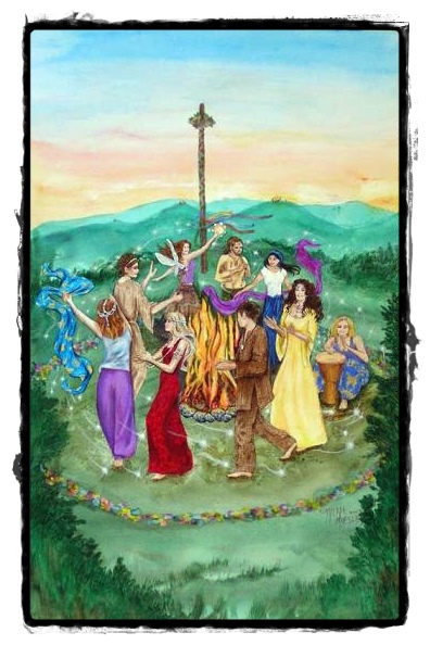 beltane may pole