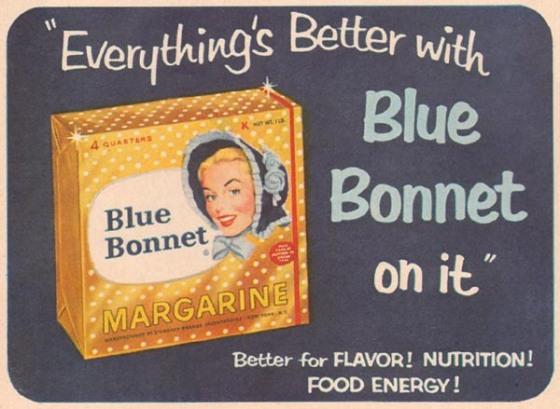 Bluebonnet margarine