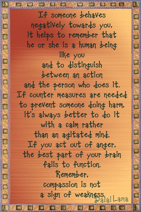 daili lama behavior quote