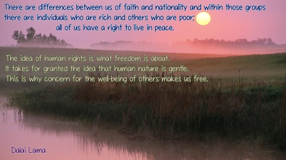 Dalai Lama Peace and Freedom
