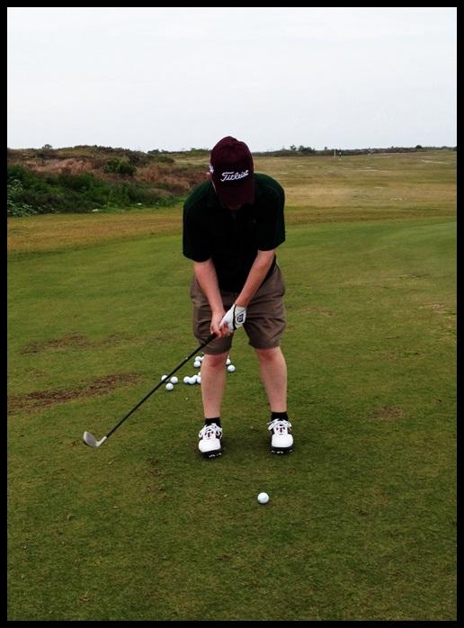 Nice back swing!