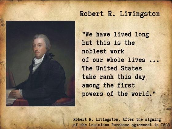 Robert R Livingston