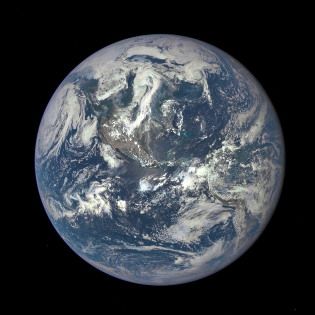this is the new blue marble